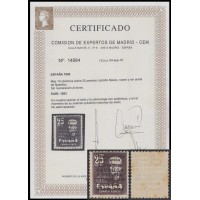 España Spain 1083 1951 Viaje Caudillo a Canarias Falla MNH