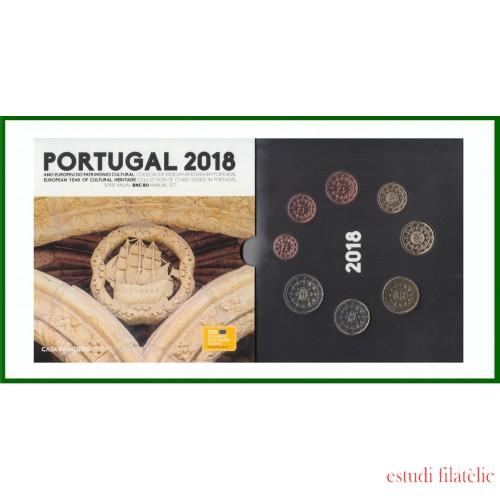 Portugal 2018 Cartera Oficial Monedas € euro Set Patrimonio