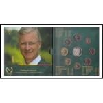 Bélgica 2018 Cartera Oficial Monedas € euro Set Fleur de Coin