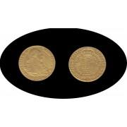 España Spain 2 escudos 1794 Carlos IIII Carol Madrid MF Oro Au gold