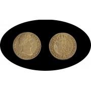 España Spain Fernando Ferdin VII 2 escudos 1815 Sevilla CJ  Oro Gold Au