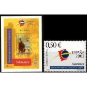 España Spain Emisión Conjunta 2002 España Cuba Exposición Mundial Filatelia Juve