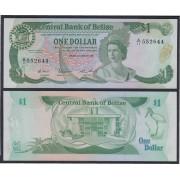 Belice Belize 1 dólar 1987 Billete Banknote Sin Circular