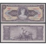 Brasil 50 cruzeiros 1949 Billete Banknote Sin Circular