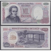 Chile 1000 escudos 1973 Billete Banknote Sin Circular