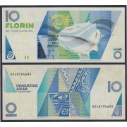 Aruba 10 florines 2003 Billete Banknote Sin Circular