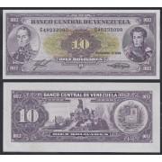 Venezuela 10 bolívares 1986 Billete Banknote Circulado