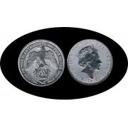 Britania Britannia 2019 2 oz onza Plata Silver Ag Falcon of Plantagenets Hálcon
