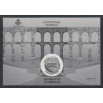 España Spain Prueba de lujo 129 2016 Patrimonio Acueducto de Segovia