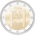 Malta 2018 2 € euros conmemorativos Niños Solidaridad Patrimonio
