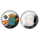 España Spain Euros conmemorativo Av. Principado  30 euros 2018 Leonor y Felipe VI