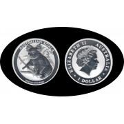 Australia 2018 1 OZ onza de plata 1 $ Koala