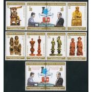 AJZ1 Santo Tomé  Nº 638/45 703/10  2001  MNH
