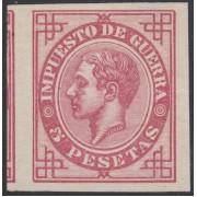 España Spain Variedad 187s 1876 Alfonso XII Sin dentar