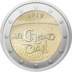 Irlanda 2019 2 € euros conmemorativos Cent. Dáil Éireann