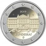 Alemania 2019 2 € euros conmemorativos Cent. Bundesrat  ( 5 cecas )