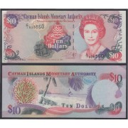 Islas Caimán 10 dolares 1998 Billete Banknote sin circular