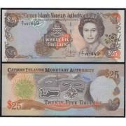 Islas Caimán 25 dolares 1998 Billete Banknote sin circular