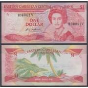 Eastern Caribbean 1 dolar 1985/88 Billete Banknote sin circular