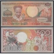 Surinam 500 gulden 1988 Billete Banknote Sin Circular