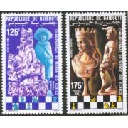 AJZ2 Djibouti  Nº 551/2  331/2  545/6   1982   MNH