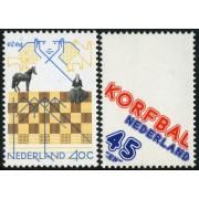 AJZ1 Holanda Netherlands  Nº 1092/93  1978  MNH