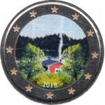 Finlandia 2018 2 € euros conmemorativos Color Cultura Sauna