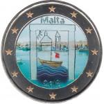Malta 2018 2 € euros conmemorativos Color Niños Solidaridad Patrimonio