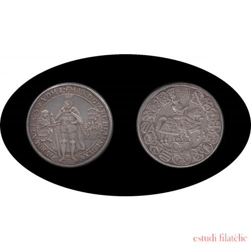 Alemania Germany Taler Thaler 1603 Orden Teutónica Teutonic Order Plata Silver