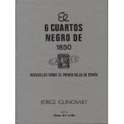 <div><strong>Catálogo Matasellos 6 Cuartos Negro de 1850 Guinovart<br />  </strong></div>