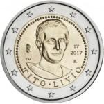 Italia 2017 2 € euros conmemorativos Tito Livio