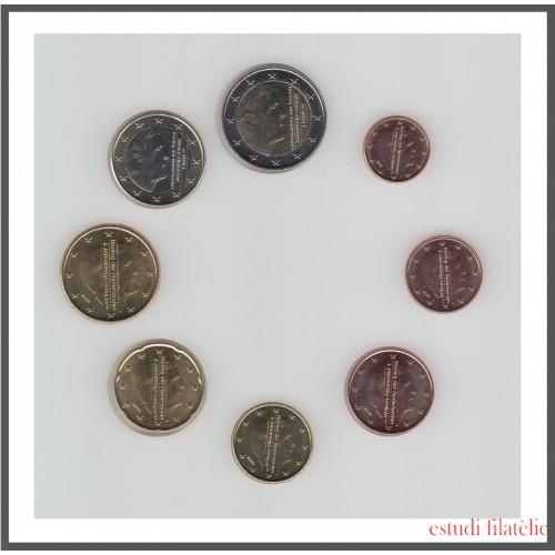 Holanda 2019 Emisión monedas Sistema monetario euro € Tira