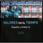 Libro Album Oficial de Sellos España y Andorra Año Completo 2018 Sin sellos