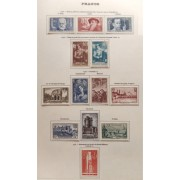 Colección Collection Francia France 1853 - 1963 4643€