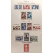 Colección Collection Francia France 1853 - 1963 4643€
