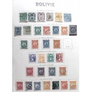 Colección Collection Bolivia 1867 - 1982
