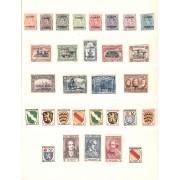 Colección Collection Alemania Imperio Reich 1916 - 1945