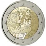 Francia 2019 2 € euros conmemorativos Muro de Berlín