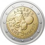 Francia 2019 2 € euros conmemorativos 60º Av de Asterix
