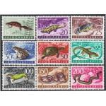 Yugoslavia 905/13 1962 Fauna Animales diversos MNH