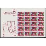 Liechtenstein 364 1961 Minihojita Europa MNH