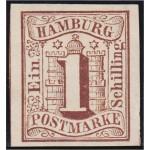 Alemania Hamburgo 2 1859 Escudo Shield MH