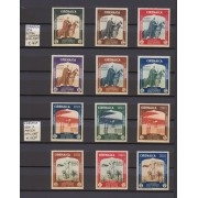 Colección Colonias Italianas Cirenaica Egeo Lipso Nisiros Fezzan Ertitrea