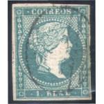 España Spain 45 1855 Isabel II Usado