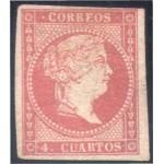 España Spain 44 1855 Isabel II MH