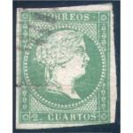 España Spain 43 1856 Isabel II Usado