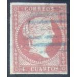 España Spain 40 1855 Isabel II Usado