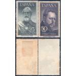 España  1124/25 1953 Legazpi y Sorolla MH