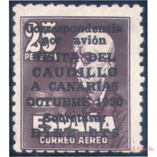 España Spain 1090 1951 Viaje del Caudillo a Canarias MNH