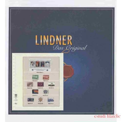 Hojas de Sellos Lindner 145GA-12 Alderney 2012 - 2019 Hojas Pre-impresas Lindner